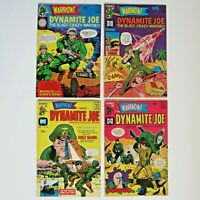 Warfront Harvey Comic Book WOW LOT 4 Dynamite Joe 36-39 NM- Silver Age B-B 66-67