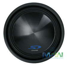 "*NEW* ALPINE SWS-15D4 15"" DUAL 4-OHM Type-S CAR SUBWOOFER SUB WOOFER SWS-15 D4"