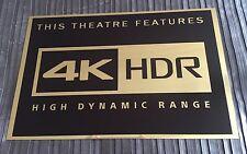 4K HDR Cinema Sign