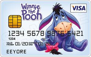 Eeyore Novelty Plastic Credit Card