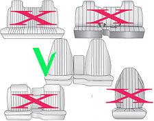 AF 98-03 FORD RANGER 60/40 highback  car seat covers  black/charcoal center