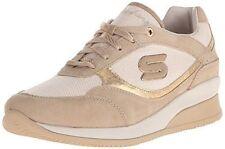 NIB Skechers Women Vita Hidden Wedge Gold Comfort Sneaker Shoes sz 11 M