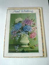 Pearl Wedding Anniversary Card -30th Wedding Anniversary