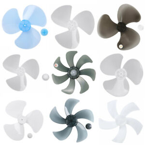 """3-7 Leaves Plastic Fan Blade Nut Cover Replace for Pedestal Stand Fanner 11-16"""""""