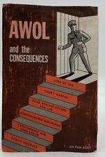 Vintage 1967 Vietnam War Era Pamphlet Awol And The Consequences Da Pam 630-1 404