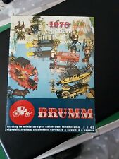 Brumm 1978 Catalogue Dicast Models