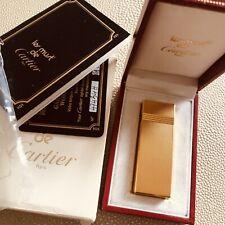 Beautiful Small Cartier Lighter.  Unused.