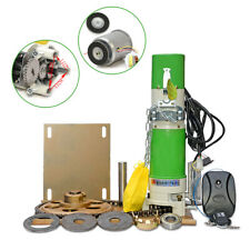 600kg Rolling Door Side Motor Operators Electric Garage Opener Automatic Kit +Rc
