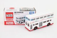 Takara Tomy Tomica Hong Kong Training Bus KMB White Limited Diecast Car Toy