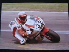 Photo Bimota Ducati DB1 1986 #32 Davide Tardozzi (ITA) Hockenheim #2 Big