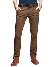 Mens Chino Trousers Stretch Skinny Slim Fit Stallion Jeans Designer Stallion New