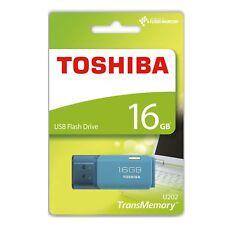 TOSHIBA TransMemory U202 Speicherstick USB-Stick 16 GB Blau