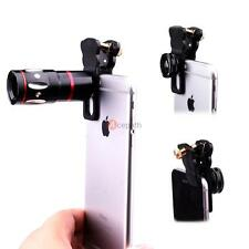 4in1 Fish Eye +Wide Angle Micro 10x Telephoto Lens Camera For iPhone 7 6 6S Plus