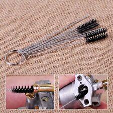 10 Cleaning Needles+5 Brushes Carburetor Spray Gun Airbrush Dirt Jet Remove Car