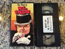 THE BEST OF W.C. FIELDS OOP VHS! COMEDY COLLECTION 3 SHORT B&W FILMS 1930-1933!