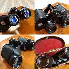 Vintage Nikon Nippon Kogaku J-Pat.9x35 7.3 Degrees Binoculars, Case GREAT OPTICS