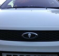 Ford Badge Marvel Punisher Front Rear Vinyl Overlay Car Sticker Focus Fiesta ST