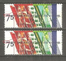 Netherlands - Error, different interspace between line and number, MNH /38b/