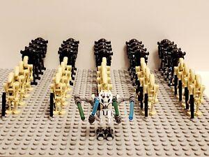 Star Wars General Grievous Battle Droids Army Set 41 Minifigures Lot - USA SELLE