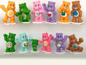 12Pcs/Set Bear Action Figure Animal Care Bears bear Best Kids Toys Model Gifts