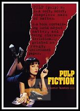 Pulp Fiction 10  Poster Greatest Movies Vintage & Classic Cinema