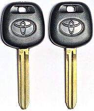 2Pcs TOY44G TOYOTA 2010-2014 G Chip Transponder Key Blank With Logo USA SELLER