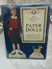 NIP American Girls Paper Dolls Molly & Bennett Pleasant Company