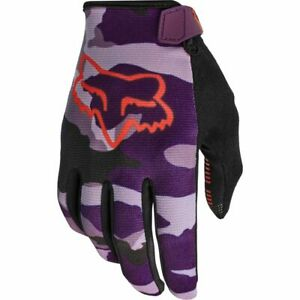 Fox Racing 2021 Women's Ranger Camo Glove Dark Purple