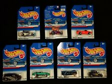 Seven (7) Hot Wheels 1998 (1 to 7 (inclusive) of 40)