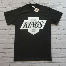Vintage 80s 90s Los Angeles Kings Tshirt Size L Made in USA Hockey
