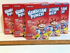6 BOXES Hawaiian Punch Singles To Go Drink Mix Fruit Punch Red Juice KETO VEGAN
