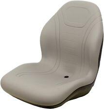 John Deere Gray Vinyl Seat Fits 2320 2520 2305 2720 Replaces OEM# LVA14067