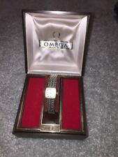 OMEGA LadyMatic Watch-  10K Gold Filled - Original Box & Papers