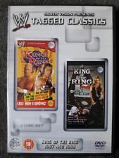 WWF King Of Thr Ring 1997 & 1998 WWE DVD Tagged Classics Wrestling Hasbro Figur