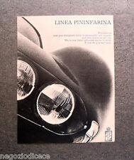 P038 - Advertising Pubblicità -1971- LINEA PINIFARINA