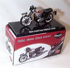 BSA Gold Star DBD34 1960 Classic Motorbike 1-24 Scale New in Case Atlas