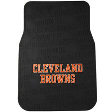 Cleveland Browns Car Mats, Heavy Duty PVC Rubber Twin pack