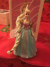 Hallmark Keepsake Rapunzel  Barbie 1  Children's Series Tree Ornament In Box