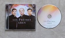 "CD AUDIO MUSIQUE / LES PRETRES ""AMEN"" 13T CD ALBUM 2014 CLASSIC"