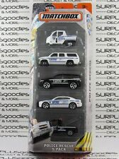 MATCHBOX MBx NYPD Police 5-Pack CHARGER SUBURBAN SUV Meter Maid TOW TRUCK VHTF