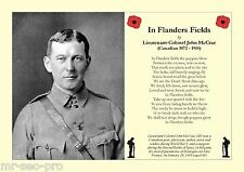 "Remembrance Day Poem: ""In Flanders Fields"" by John McCrae (Canada, died 1918)"