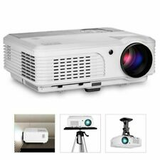 New ListingEug X660S+ Led Video Projector Hd 1080p Home Theater Hdmi Holiday Party 7000:1