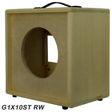 1x10 solid Pine, Raw wood Extension Guitar speaker Empty cabinet G1X10ST RW