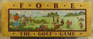 Fore - Golf Game - Complete VGC - Board Game