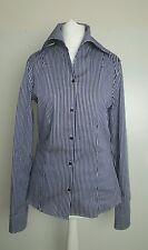 Bnwot Jil Sander women's  striped fitted shirt.blouse.sz 36 (uk 8-10). £285