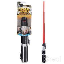 New Star Wars Red Darth Vader Extending Lightsaber Rebels Rogue One Official