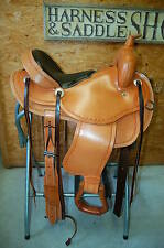 "GW CRATE 16"" GAITED HORSE CUSTOM MADE SADDLE FREE SHIP LIFETIME WARRANTY USA"