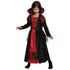 Vampire Costume Girl Halloween Vampire Dress Countess Dracula Gothic Dress 128