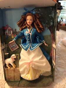 """12"""" 1998 Barbie Had A Little Lamb 1st In Nursery Rhyme No Box Never Played With!"""