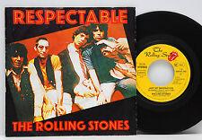 "Rolling Stones      Respectable   /   Imagination       7""       NM  # D"